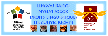 Право на язык: симпозиум в Женеве, апрель 2008 года